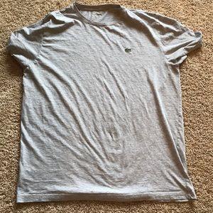 Grey Lacoste T-Shirt